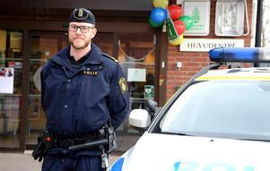 Kommunpolis Thomas K. Nordström ser positivt på privata initiativ.