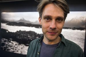 Fotografen/konstnären Karl Henrik Edlund.