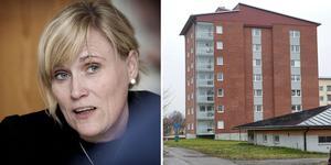 För närvarande har vi noll lägenheter som är outhyrda, konstaterar Bärkehus vd Cia Ferner Kny.   Foto: Arkivbild. Bilden är ett montage.