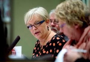 Mari Eliasson, ordförande i Timrå kommunfullmäktige, klubbade detaljplanen för andra gången hösten 2016 .