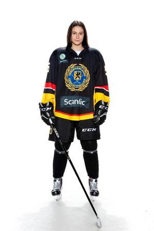 Foto: Lars-Åke Johansson/Södermanlands  Ishockeyförbund. Victoria Sestan.