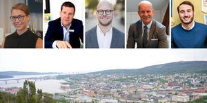 Både bostadsrätternas och villornas priser har ökat i Sundsvall, enligt senaste mäklarstatistiken. Fotot är ett montage. Bilder: ST / Pressbilder