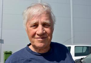 Hans Berg, 75, pensionär, Alnö: