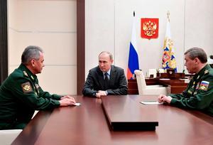 Under president Putin har Ryssland gått från delvis fri media till total ofrihet. Foto:  AP