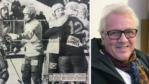Peller Togner var en av Sverige hjältar i VM 1981. Utdrag från Ljusnan, 9 februari 1981. Bild på Pelle, privat.