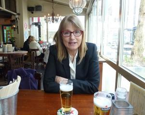 Kerstin Hillerström, civilekonom och statsvetare boende i Falun.