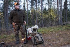 Lugnet i naturen, men också gemenskapen i laget, det är viktigast för Bosse Johansson.