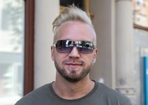 Henrik Rasehorn, 29 år, ordningsvakt, Sundsvall