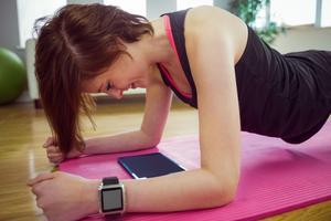 För den som hellre tränar hemma finns det numera flera träningsformer att tillgå via nätet.Bild: Shutterstock