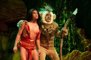 Rollen som Mowgli var den första stora rollen för Nils Axelsson från Hedesunda.