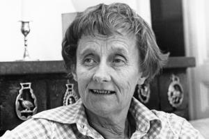 Astrid Lindgren, (1907–2002), författare, Stockholm: