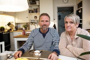 Kent och Carina Andersson är svårt oroade inför en eventuell privatisering av personlig assistans.