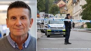 """""""Utredningsläget ser gott ut"""", säger kriminalkommissarie Johan Allard om knivskärningen i torsdags på Turingegatan. Foto: Torbjörn Granström/Monika Nilsson Lysell"""