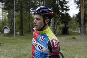 Roger Karlsson, ordförande Borlänge Cykelklubb, ser med spänning på arbetet att arrangera världscups-tävlingar.