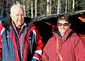 Ingegerd och Anders Höök laddar för ännu en säsong med ädelfiske vid Övre Hedtjärn, en begivenhet som i år firar jubileum.