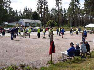 Publiken följde spelet med stort intresse. Foto: Ann-Marie Fredriksson