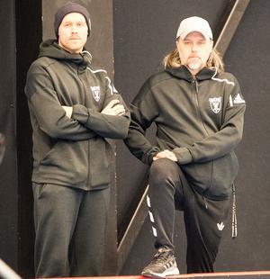 IBF Faluns tränarduo Eric Björk och Thomas Brottman.