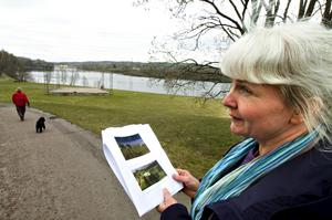 Stora möjligheter. Landskapsarkitekt Katarina Nilsson ser stora utvecklingsmöjligheter för Älvhagen.
