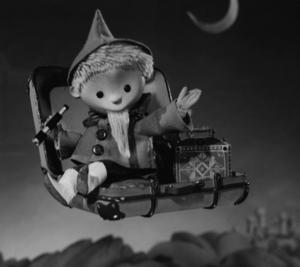 Dockfiguren John Blund (på tyska Sandmann) förekom i en serie filmer som börjades visas i östtysk tv 1959. Senare visades den i bland annat svensk tv, i programmet Halvsju.