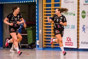 Maja Allgulander och Julia Hansson kommer vara viktiga med sin rutin för det unga Strand.