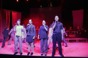 Sångverkstans fyra deltagare är Ellen Danhard, Järvsö, Julia Elfstrand, Alfta, Anna Enerud, Hudiksvall, och Joar Nordmark, Delsbo.