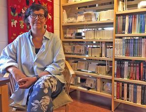 I Rättvik är hon nu chef för 12 personer.  – Ledarskap har länge intresserat mig, säger Lena.