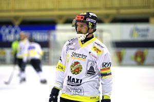 Falu BS lagkapten, Pär Bäckmans.