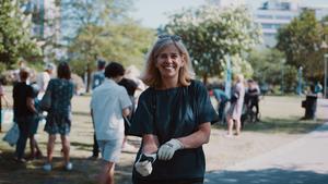 Johanna Ragnartz är vd för Håll Sverige Rent. Foto: Pressbild