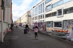 Etapp 1 av ombyggnationen av Drottninggatan är igång.