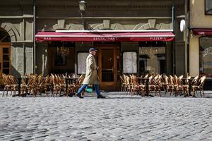 En lång bit att vandra innan småföretagarna kan arbeta under optimala villkor. Foto: Emma-Sofia Olsson / SvD / TT