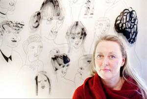 Art directorn Lena Andersson har tidigare formgett böckerna Kärlek och käk samt Det goda livet.
