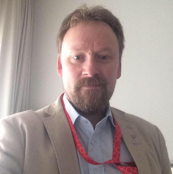 Joakim Borg, ombudsman Transportarbetareförbundet Foto: Privat