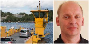 Flera företag är inkopplade för att ta reda på vad som är fel med Oaxenfärjan, förklarar Per-Arne Fijal.