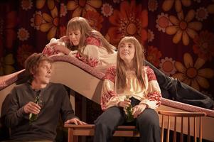 Två Martinor på scen – Karin Bengtsson och Miriam Forsberg med Jesper Feldt i