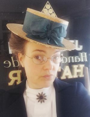 Camilla Sandahl, kulturhistoriker och museipedagog på Skansen i Stockholm. Foto: Privat