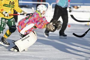 Jonas Svensson gjorde sin första seriematch – och stod upp starkt mot Tellus.