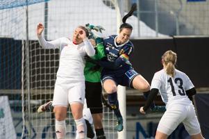 Ida Markström under DM-finalen mot Kovland tidigare i år. En match Sundsvalls DFF vann.