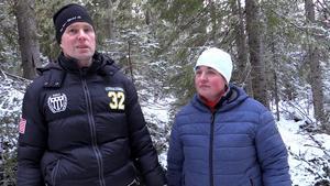 Gerhard Nilsson och Marit Eriksson.