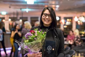 Helén Truong, Årets unga ledande kvinna  2018.