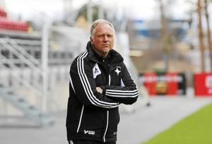Kenth Persson under sin tid som tränare i IFK dam. Arkivbild: Sanna Svanebo