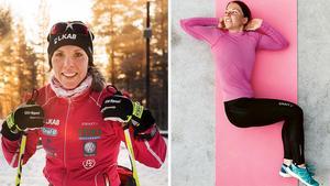 Charlotte Kalla är både OS- och bokaktuell.Bild: Nils Jakobsson