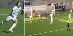 Adrian Bjelkendal Haaranen räddade GIF med skallen mot Boden. Nu kommer laget med vind i ryggen till hemmamatchen mot Linköping.