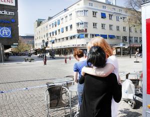 De anställda på banken trodde att det rörde sig om en riktig bomb och var skärrade och chockade efteråt. Bild: Arkiv