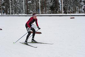 SOK:s Hanna Hugosson som tog en tredjeplacering i D20-klassen.