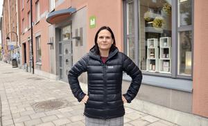 Lotta Björklund, vd på Mitthem.