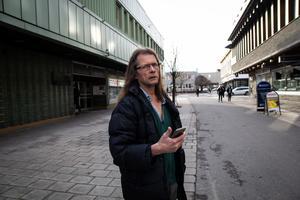 Thomas Persson var bland de första att få syn på det skadade rådjuret.