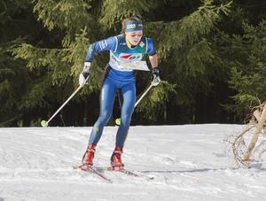 Alexandersson tävlandes i skidorientering. Nu ger hon sig på en ny sport på snö. Bild: Svenska Orienteringsförbundet.