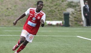 Naeem Mohammed gjorde 1–0-målet och var delaktig i 2–0. Bilden är från ett annat tillfälle.