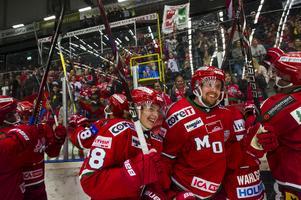 Modospelarna Lukas Wernblom och Magnus Häggström har lyft sig jämfört med förra säsongen. Foto: Jonas Forsberg / Bildbyrån