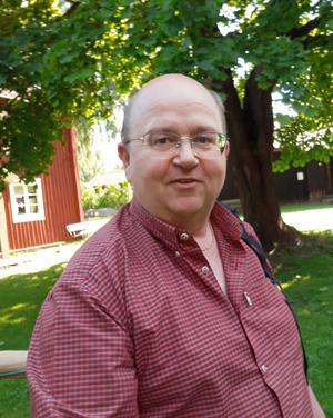 Mikael Morin är ny ordförande för Miljöpartiet i Borlänge. Foto: Privat